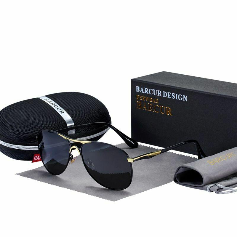 Men's Sunscreen Polarized Eyeglasses Polaroid Alloy Shade Fa