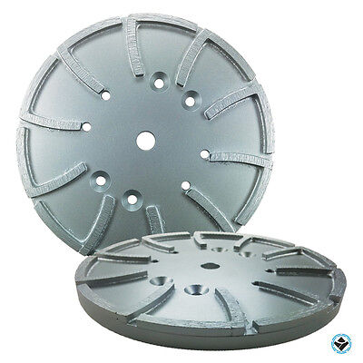 10 Inch Grinding Head Disc Plate 20 Laser Welded Segments Arbor 58 Free Ship