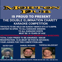 DOUBLE ELIMINATION CHARITY KARAOKE COMPETITION