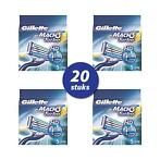 Gillette mach 3 turbo HD scheermesjes 20st