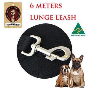 The lunge leash recall leash dog training leash 6 Metre Carlisle Victoria Park Area Preview