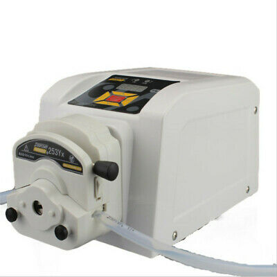 Variable Speed Peristaltic Pump Medical With Foot Pedal Easy Flip-top Tubing