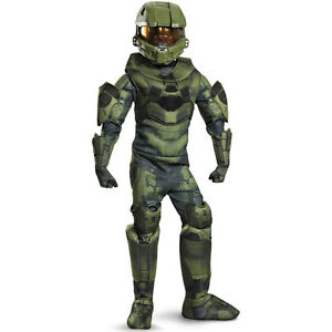 Halo Master Chief Boys Large Prestige Costume