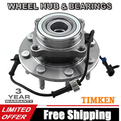 TIMKEN Front Wheel Hub & Bearing Left LH or Right RH For Chevy Pickup Truck