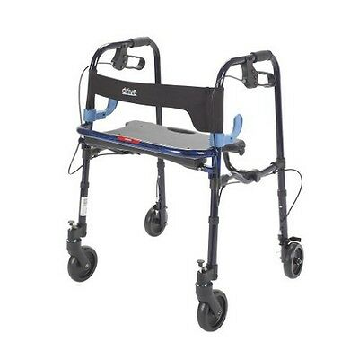 Drive Medical 10230J Clever Lite Rollator Walker With 5In Casters New