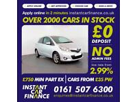 Toyota Yaris Vvt-I Sr Hatchback 1.3 Manual Petrol BAD / GOOD CREDIT