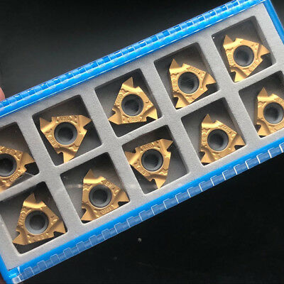 10pcs 16er Ag60 1020 Turning Tool Insert For Cutting Steel Carbide Cutting