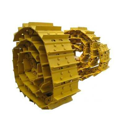 Two Track Groups 36 Link Chains W 12 Single Bar Pad For John Deere 350c Dozer