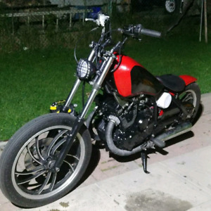 All custom bobber 1983 Yamaha Maxim 400