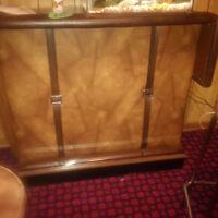 Portable bar and 2 stools
