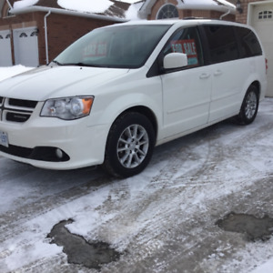 2012 grand caravan RT bought new in 2013 Top of the lin89,000 km