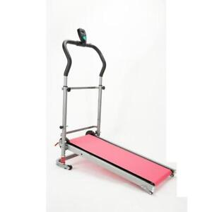 Brand New Portable Manual Treadmill Folding Fitness Home Exercise Family Use (020082)
