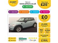 MINI COOPER 1.2 1.6 2.0 S D SEVEN ONE COUPE CHILLI PACKFROM £25 PER WEEK!