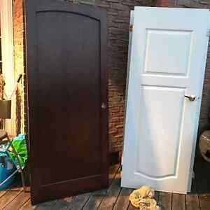 Front door exterior solid wood