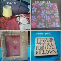 Picture frames, coasters & more!