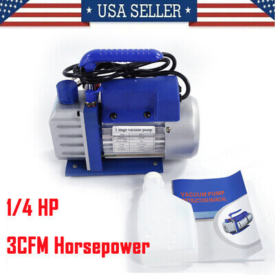 3cfm 14hp Vacuum Pump 1720 Rpm Business Home Air Tool For Air Conditioning