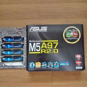 ASUS Motherboard and G.Skill RAM for Sale