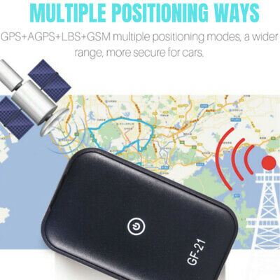 Car Spy Audio Gps Tracker Real Time Tracking Locator Device Voice Record Mini
