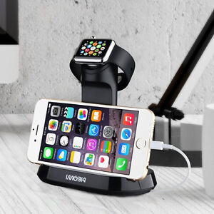 Brand New 2 in 1 Apple watch Stand plus Dock Station