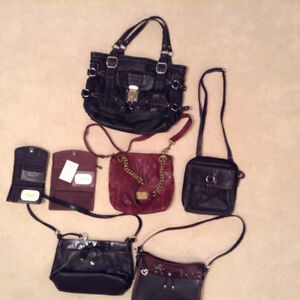 Guess, fossil and Brighton purses