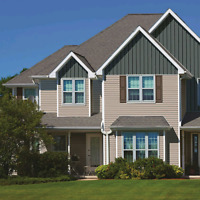 SIDING AND GUTTERS (EAVESTROUGH INSTALLATION AND REPAIR)