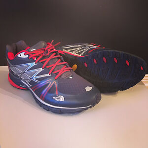 Barely Worn North Face Ultra Equity Trail Running Shoe Men's 13