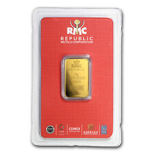 5 gram Gold Bar - Republic Metals Corporation (In Assay)
