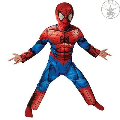 IAL Lizenz Kinder Jungen Kostüm Ultimate Spiderman Deluxe Marvel (Kinder Deluxe Ultimate Spiderman Kostüme)