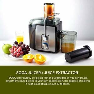Stainless Steel Juice Extractor 1200W Melbourne CBD Melbourne City Preview