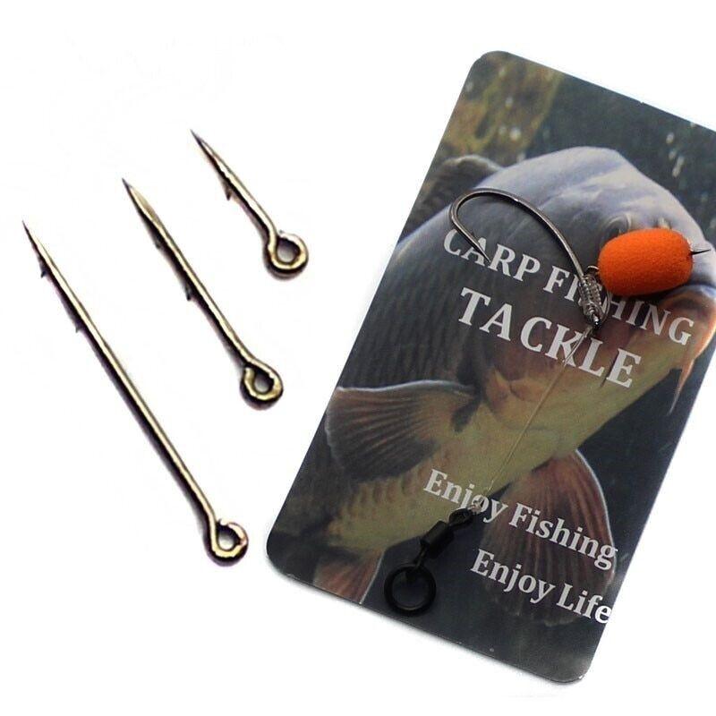 Wifreo 100PCS Metal Bait Spike Carp Fishing Hook Bait Sting Boilies Pin