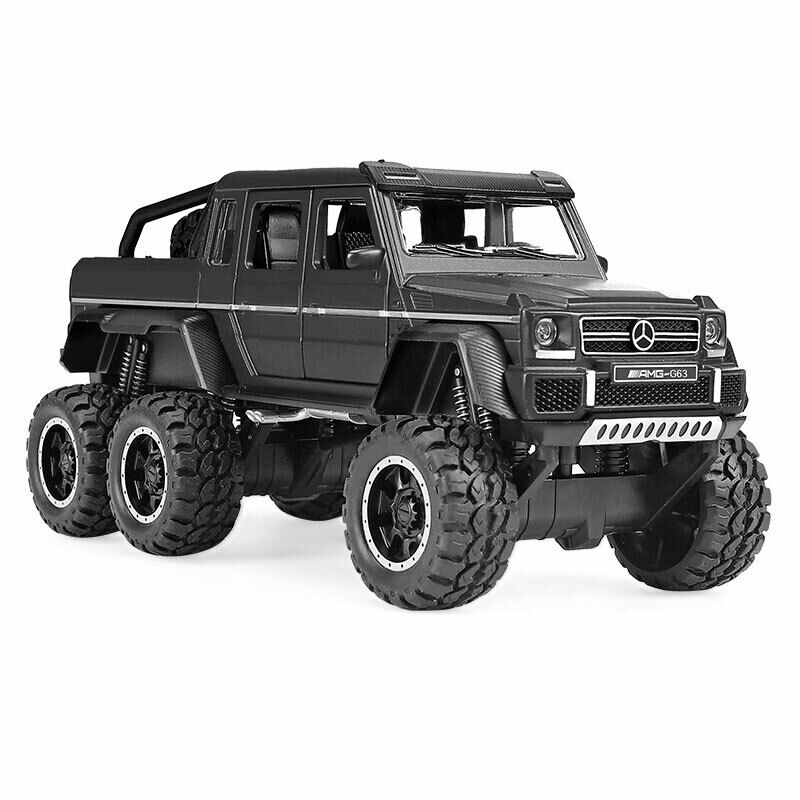 Details about Benz G63 AMG 6X6 Off-road SUV 1:32 Scale Car Model Diecast  Toy Vehicle Black Kid