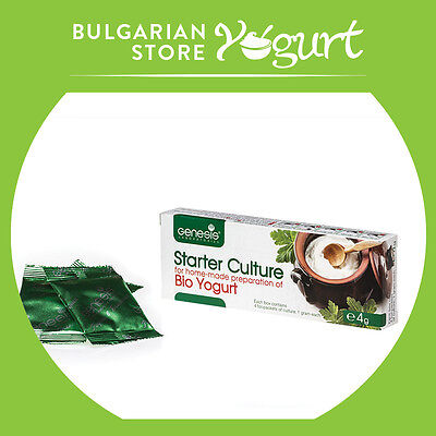 Bulgarian Bio Yogurt Starter Culture By Genesis Laboratories Up To 20 Liters