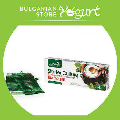 Bulgarian Bio Yogurt Starter Culture By Genesis Laboratories Llc Up To 20 Liters