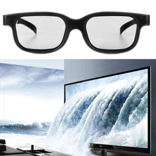 High Quality Polarized Passive 3D Glasses Black H3 For TV Re