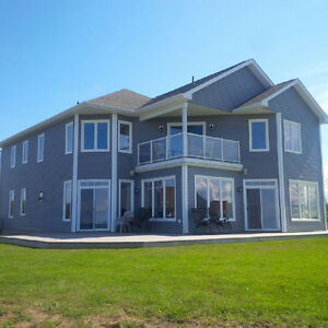 4 bdrm, 2 car grg, beach front, furn, elect, and internet incl!