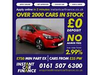 Renault Clio Dynamique S Medianav Dci 1.5Diesel GOOD / BAD CREDIT CAR FINANCE