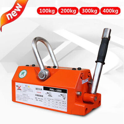 100400kg Permanent Magnet Crane Magnetic Lifter Heavy Duty Crane Hoist Lifting