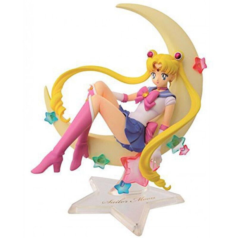 Anime Sailor Moon Usagi Tsukino 15cm PVC Figure Figurine and Box Holiday Gift