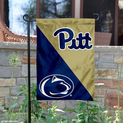 House Divided Garden - Pitt vs. Penn State House Divided Garden Flag and Yard Flag