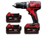 Brand New in Box Milwaukee Drill Driver M18 BPD-303B with three (3) 3.oAh Batteries and Charger
