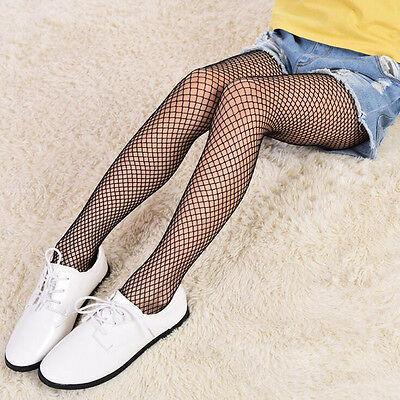 Fashion Fishnet Stockings Children's Socks  Girls Black Leggings  For 7-18 - Fishnet Stockings Girls