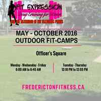OUTDOOR FIT-CAMPS AT OFFICERS' SQUARE - JOIN US!