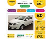 Vauxhall/Opel Corsa 1.2i 16v ( 85ps ) 2010.5MY SXi FROM £15 PER WEEK!