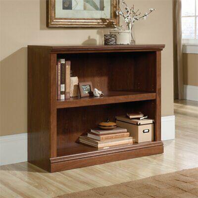 Sauder Select 2 Shelf Bookcase in Oiled Oak 2 Shelf Oak Bookcase