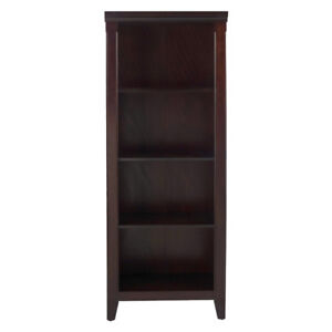 Avington Bookcase Dark Tobacco