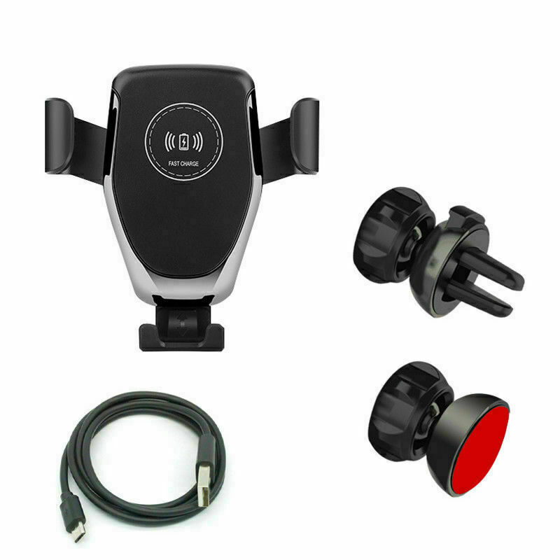 Qi Wireless Automatic Car Charging Charger Mount Clamping air Vent Phone Holder Cell Phone Accessories
