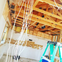 Load bearing walls removal, complete reno from start to finish
