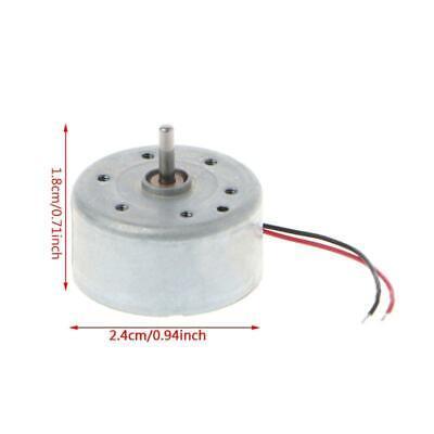 Mini Micro 300 Solar Power Motor 5500rpm Dc 3v -6v Toys Parts