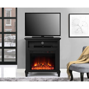 """BRAND NEW -TV Stand for TVs up to 32"""" with Fireplace"""