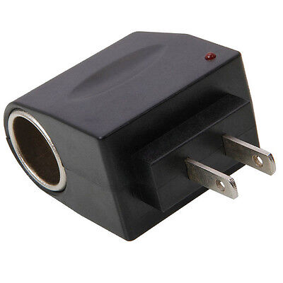 120V AC Electric Wall Outlet Power To 12V DC Cigarette Lighter Adapter (12v Ac Car Lighter)